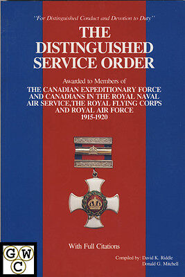 Distinguished Service Order (DSO) 1915-20 to Canadians Catalog (10750)
