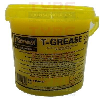 Schrader T Grease 4Kg for Truck Bus Farm and EM Tyres