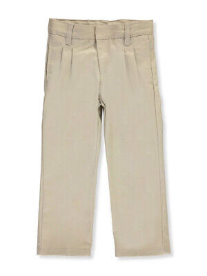 French Toast Little Boys' Pleated Wrinkle No More Double Knee Pants