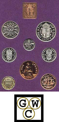 Great Britain 1970 Prf Set (Last Pence Shilling Pound of the Old System) (11817)