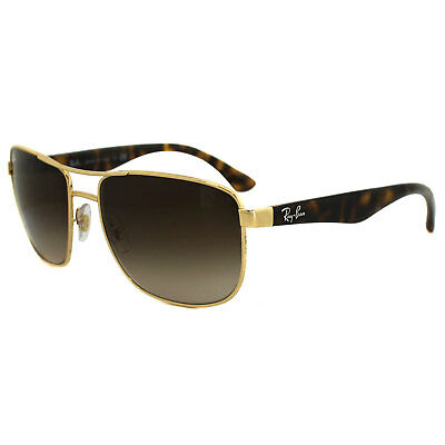 Ray-Ban Sunglasses 3533 001/13 Gold Tortoise Brown Gradient