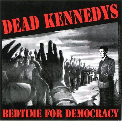 "DEAD KENNEDYS bedtime for democracy STICKER (4"" x 4"") **Free Shipping** -c s7572"