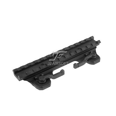 JJ Airsoft ARMS 19 Throw Lever Mount (Black)