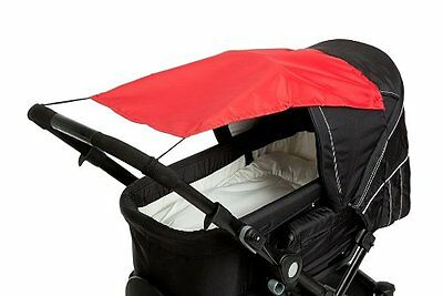 Altabebe Baby Sunshade with UV Protection for Pram/Stroller Red