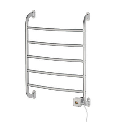 Jerdon Warmrails Regent Wall Mount Towel Warmer Rack Chrome