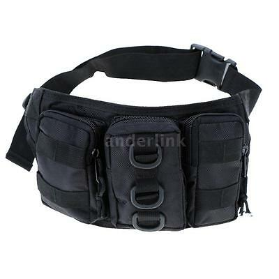 Outdoor Hiking Traveling Waist Pack Bag Travel Hiking Motorcycle Riding W3O1