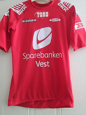 Brann 2007 Home Football Shirt Size large boys /39806