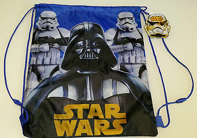 Turnbeutel Star Wars  * *darth Vader *sport Beutel In Blau  * Neu *