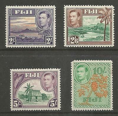 FIGI SG264-66a 1938-55 GVI 2/- TO 10/- MOUNTED MINT SEE SCANS CAT £59.75