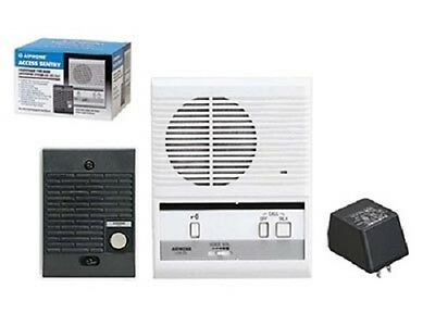 Aiphone LEM-1DLS Single-Door Access Sentry System - Kit with One Master Intercom