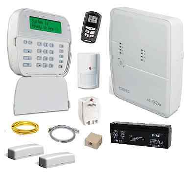 DSC KIT4952 ALEXOR 2-way wireless system with contacts fob and motion - Warranty