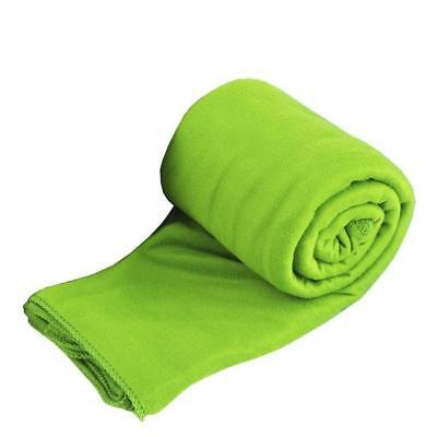 Sea to Summit Pocket Towel Ultra Fine Knit Microfibre LIME LARGE 120cm x 60cm