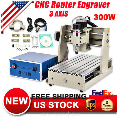 CNC 2015T MACH3 Router Engraver engraving Drilling/Milling machine 300W
