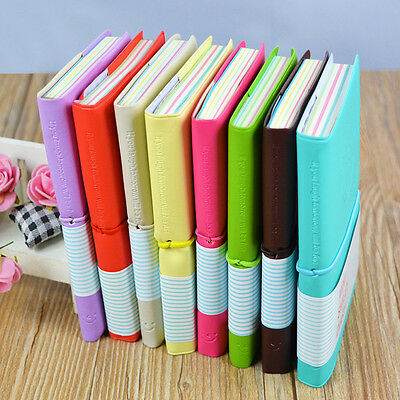Diary Mini Charming Mini Portable Smile Paper Notebook Memo Note Book W1E