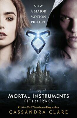 The Mortal Instruments 1: City of Bones Movie Tie-in by Cassandra Clare Book The