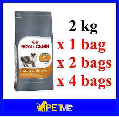 Royal Canin Feline Cat Dry Food Hair And Skin Care (2 Kg) Adult Cat