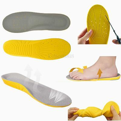 Foot Soothers Sole Memory Foam Orthotic Arch Support Insoles Shock Absorption UK