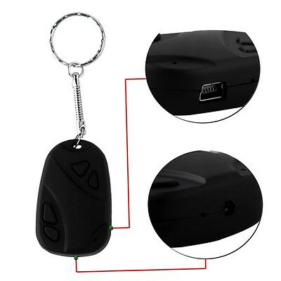 Mini 808 Car Key Chain Micro Camera HD 720P H.264 Pocket Camcorder C9