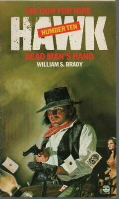 Dead Man's Hand (Hawk) by Brady, William S. Paperback Book The Cheap Fast Free