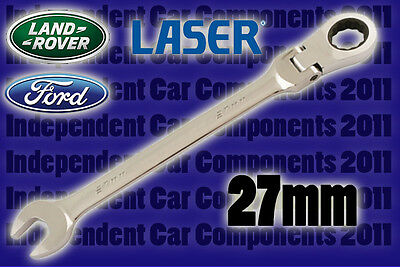 Laser Tools 5246 Motorcycle 22mm 27mm Axle Wrench Spanner Tool