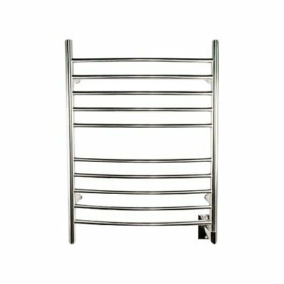 Amba Wall Mount Electric Towel Warmer Polished