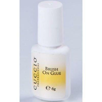 Cuccio Brush-On Nail Glue 6g - Professional Strong Adhesive