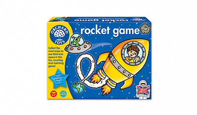 Orchard Toys Rocket Counting and Matching Game Educational Fun