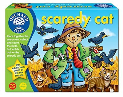 Orchard Toys Scaredy Cat Number Counting Games Educational Childrens Learning