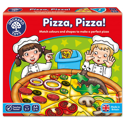 Orchard Toys Pizza Games Educational Childrens Fun Learning Game Learning Age 3