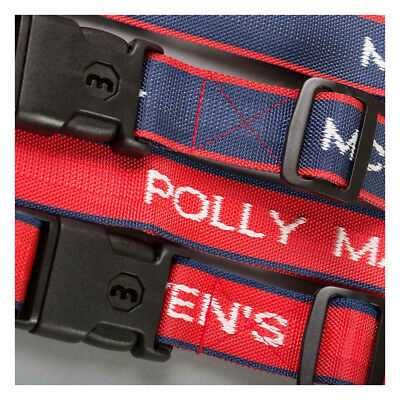 Personalised Woven Luggage Straps, secure your suitcase while traveling