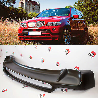 BMW X5 E53 4.8is style FRONT bumper spoiler 2000-2006