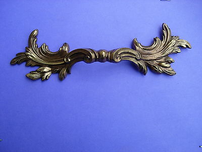 Vintage Karges Furniture Italian Brass Drawer Pull French Provincial NOS Antique