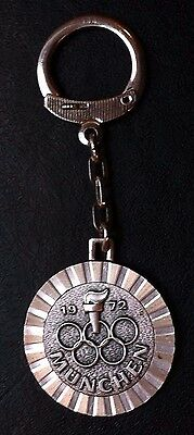 Germany Olympic Games Munchen 1972 - Old Vintage Keychains - Very Rarre !