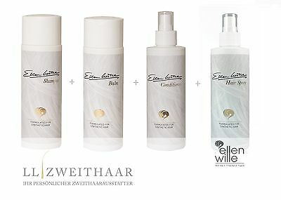 Perücken Pflegeset Ellen Wille Shampoo + Balsam + Conditioner + Haarspray je 200