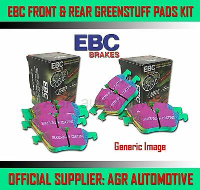 Ebc Greenstuff Front + Rear Pads Kit For Ssangyong Kyron 2.7 Td 2006-