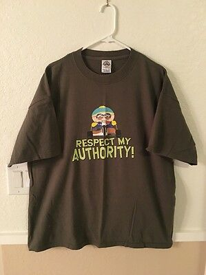 "South Park ""Cartman - Respect My Authority!"" T-Shirt - Size XL"
