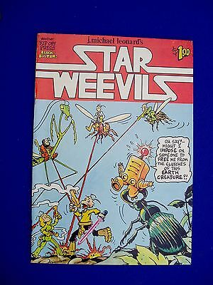 Star Weevils : underground comic by J Michael Leonard. Rip Off Press 1978. vfn.