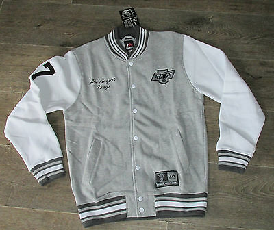 Majestic Los Angeles Kings Burnside Hockey Letterman NHL SPECIAL OFFER PRICE!!