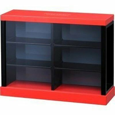 Takara Tomy TOMICA Square Display Box Case RED can contain max. 6 toy cars