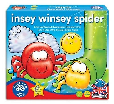 Orchard Toys Insey Winsey Spider Number and Counting Game