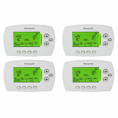 Honeywell RTH6580WF Remote Wi-Fi 7-Day Universal Programmable Thermostat, 4-Pack