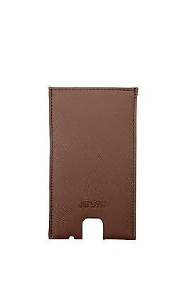 Iphone Cases Ju'Sto Unisex Eco Leather Brown PORTAIPHONEMARRONE
