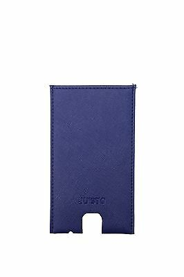 Iphone Cases Ju'Sto Unisex Eco Leather Blue PORTAIPHONEBLU