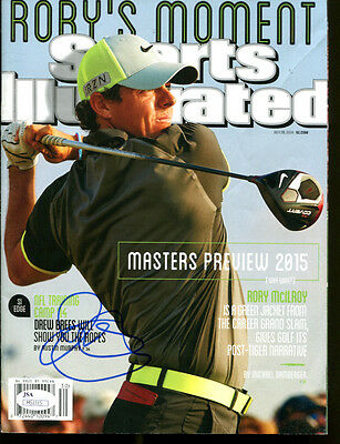 RORY McILROY SIGNED AUTOGRAPHED GOLF SPORTS ILLUSTRATED MAGAZINE JSA #M51315