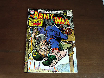 "Our Army At War #155  ""fokker Fury!""  1965   Key Issue"