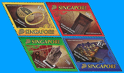 Singapore Stamp, 2015 SIN1512 Indian Heritage Centre, Pioneers, Art