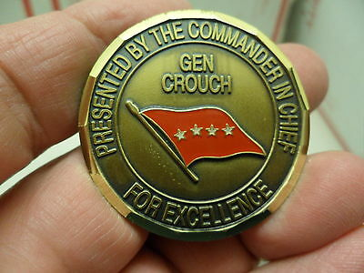 US Army Europe & 7th Army Gen Crouch Heidelberg Germany Army Challenge Coin