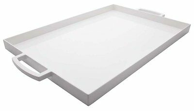 Zak Designs Mee Mee Range Melamine Rectangle Serving Tray White