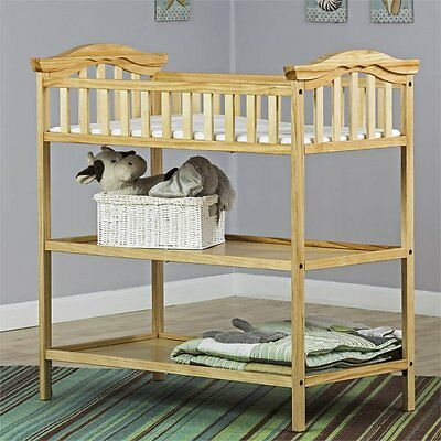 Dream On Me Jessica Changing Table in Natural Transitional Baby