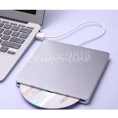 External USB Slot In Ranura CD±RW Writer Burner Drive DVD Player Para PC Win 7/8